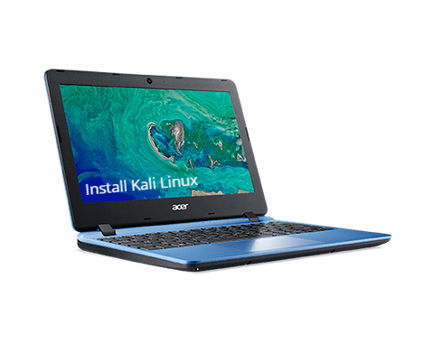how to install kali linux on acer laptop