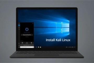 Microsoft Surface Laptop 2 Kali Linux