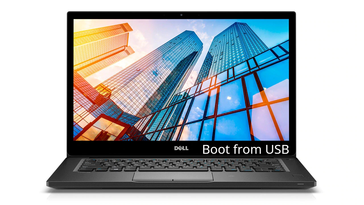 Dell Latitude 7490 Boot from USB from Windows for Linux