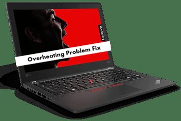 Lenovo ThinkPad X280 overheating