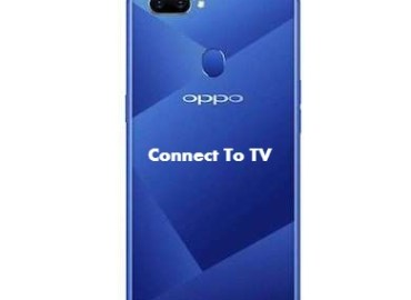 Oppo A5 Connect with TV