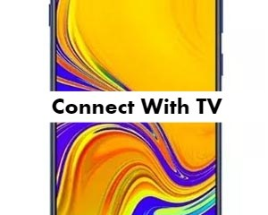 Samsung Galaxy M30 Connect with TV