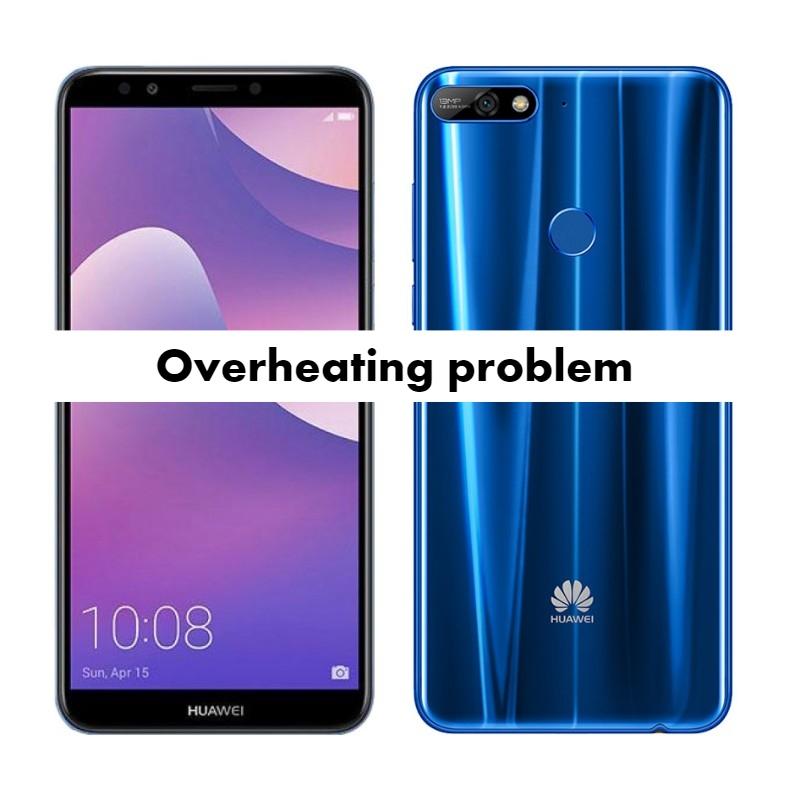 Complete Huawei Y7 Prime Overheating problem Fix - infofuge