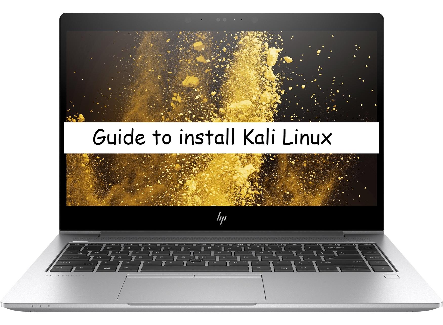 HP Elitebook 840 Kali Linux