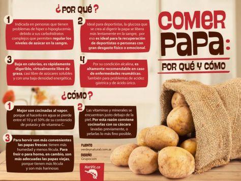 beneficios de comer patata