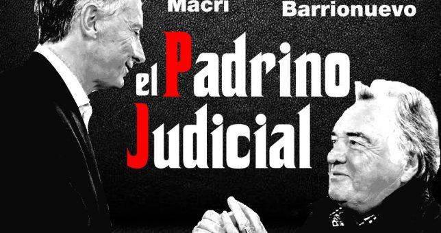 Empapelaron la ciudad para escrachar a Barrionuevo por su rol como interventor del PJ