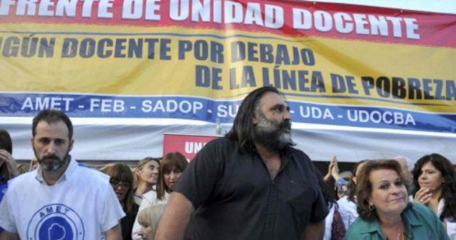 A 51 días del último llamado de Vidal a paritarias, los docentes lanzan un paro de 48 horas