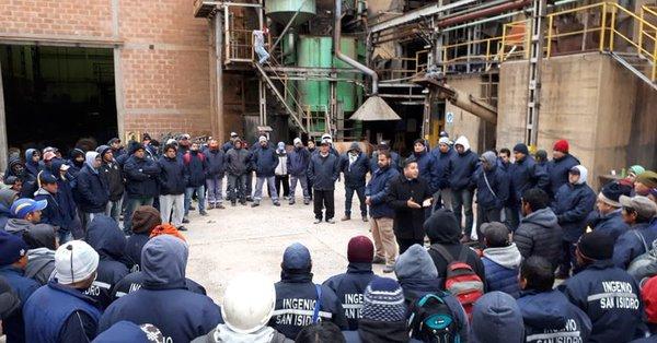 Denunciaron penalmente a los trabajadores que tomaron el ingenio San Isidro