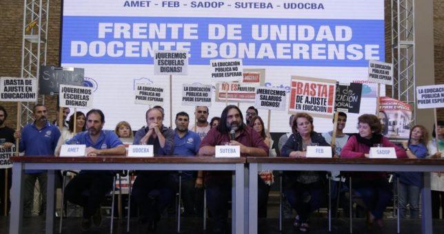 Olvidados por Vidal, los docentes le piden a la Iglesia que interceda para resolver el conflicto salarial