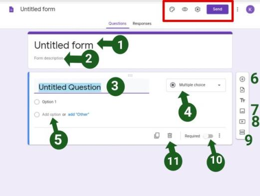 how to create google form in mobile