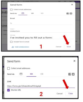 how to make google form in mobile