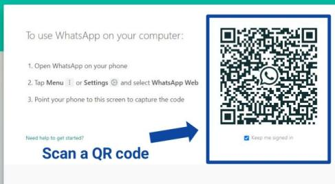 how to use WhatsApp on a computer