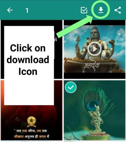 How to download WhatsApp status videos