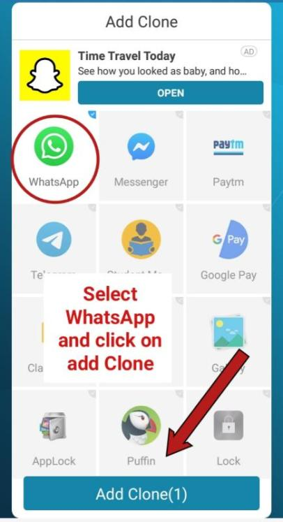 how to use two WhatsApp account in one phone