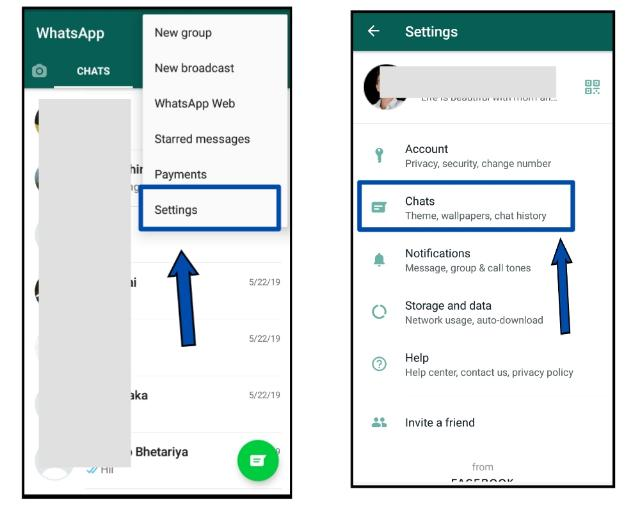 How to change language in WhatsApp while typing