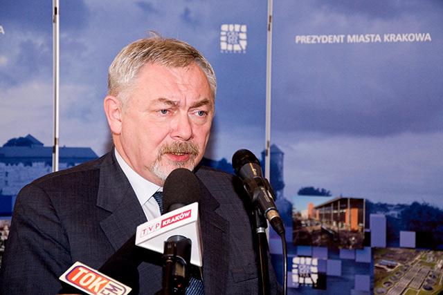 Prezydent Krakowa prof. Jacek Majchrowski dotrzymał słowa