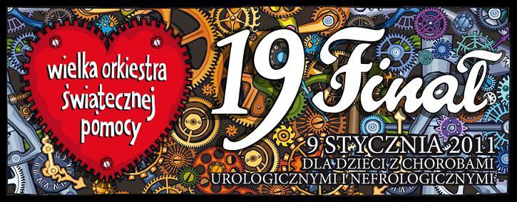 19. finał WOŚP Kraków gra z Orkiestrą