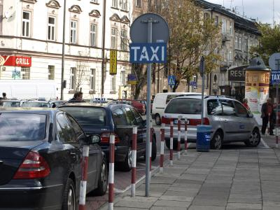 Taxi z Niepołomic z wyrokiem