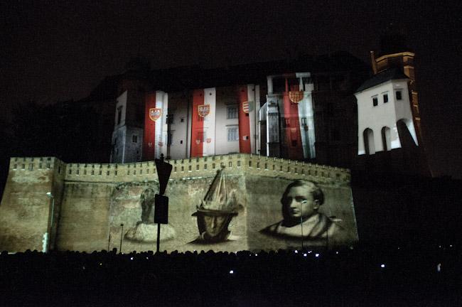 Wawel ożył - Wszystko dzięki mappingowi 3D (video + zdjęcia )