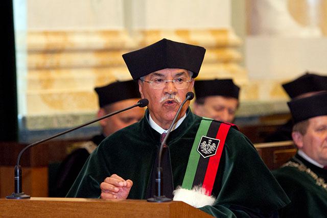AGH - doktorat honoris causa dla ministra ropy Arabii Saudyjskiej (Zdjęcia)