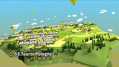 KRAKÓW PRZYGOTOWANY NA ORGANIZACJĘ TOUR DE POLOGNE