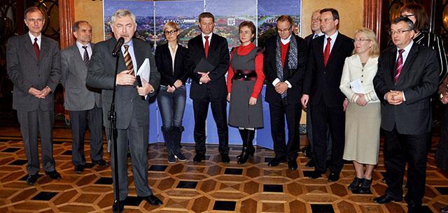 O Krakowie z parlamentarzystami [ ZDJĘCIA ]