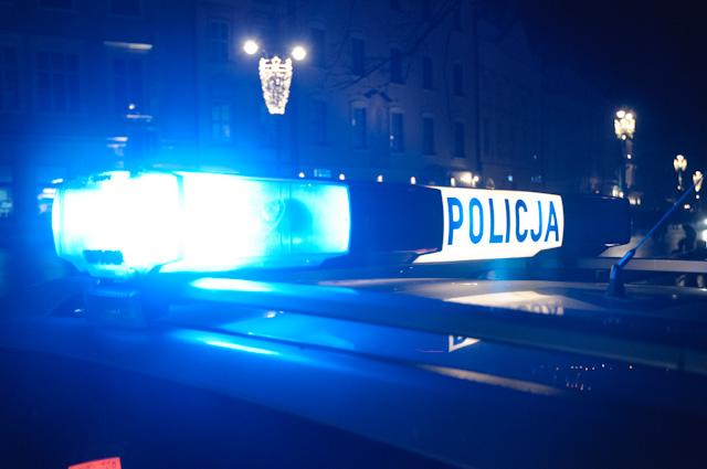 Ucieczka kradzionym samochodem i policyjny pościg ulicami Krakowa
