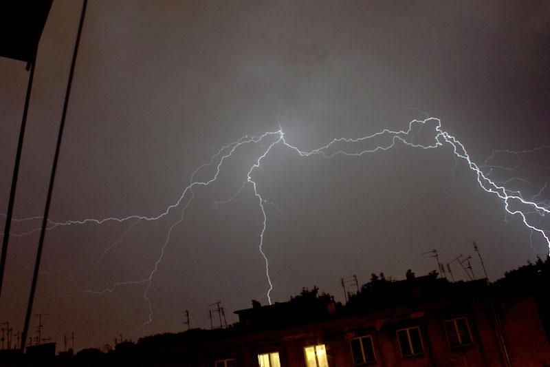 Uwaga na burze z gradem ? ostrzeżenie synoptyków