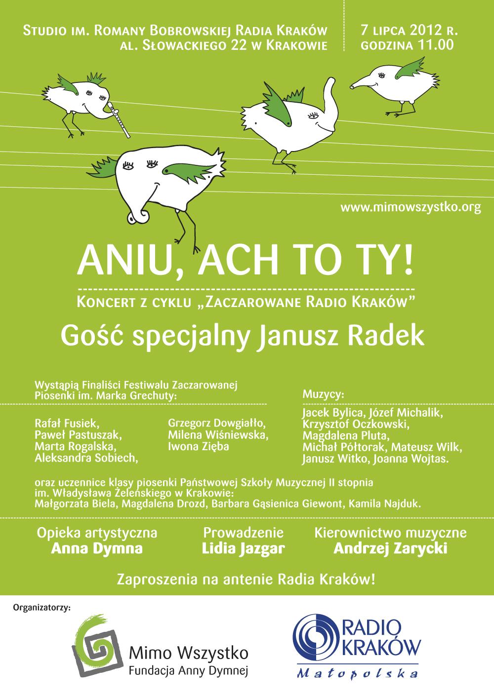 Letni koncert w zaczarowanym Radiu Kraków