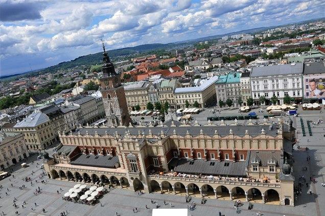 Widok_Sukiennice.Fot. Bogusław Świerzowski / INFO Kraków24