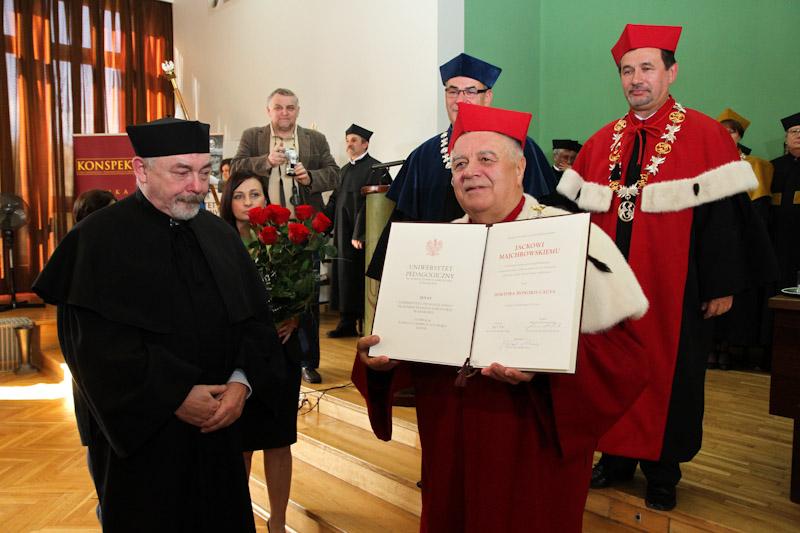 prof. Jacek Majchrowski z tytułem doktora honoris causa Uniwersytetu Pedagogicznego w Krakowie [ zdjęcia ]
