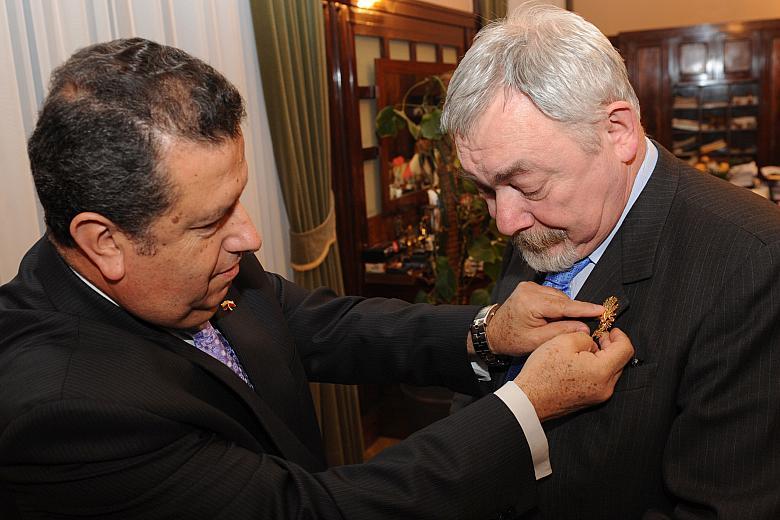 Złote Słońce Ekwadoru dla Prezydenta Krakowa Jacka Majchrowskiego