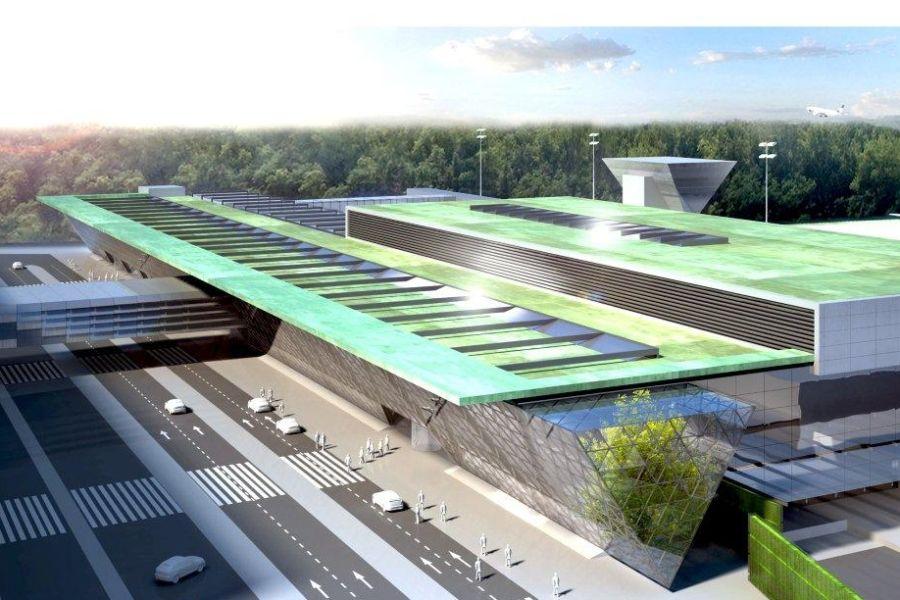 Nowy terminal krakowskiego lotniska