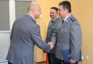 KPP Oświęcim Komendant Wojewódzki wręczył  podziękowania oświęcimskim policjantom. Fot. Małopolska Policja