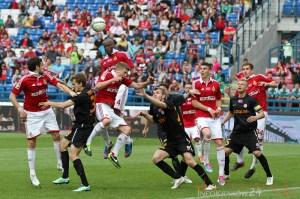 Wisła Kraków ? Zagłębie Lubin 0:1. Fot. Jan Graczyński / INFO Kraków24