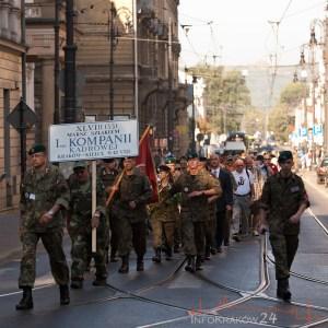 Marsz Szlakiem Pierwsej Kadrowej. Fot. Jan Graczyński / INFO Kraków24