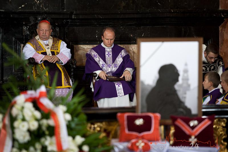 Pogrzeb Sławomira Mrożka. Fot. Jan Graczyński / INFO Kraków2