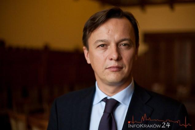 Sławomir Ptaszkiewicz Radny Miasta Krakowa. Fot. Jan Graczyński / INFO Krak