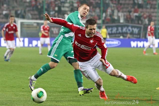 Wisła Kraków – Lechia Gdańska 0:1 (0:0). Fot.Jan Graczyński / INFO Kraków24