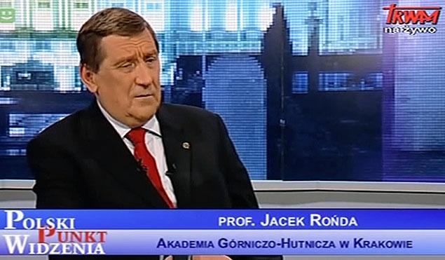 Prof.Jacek-Rońda w programie TV Trwam