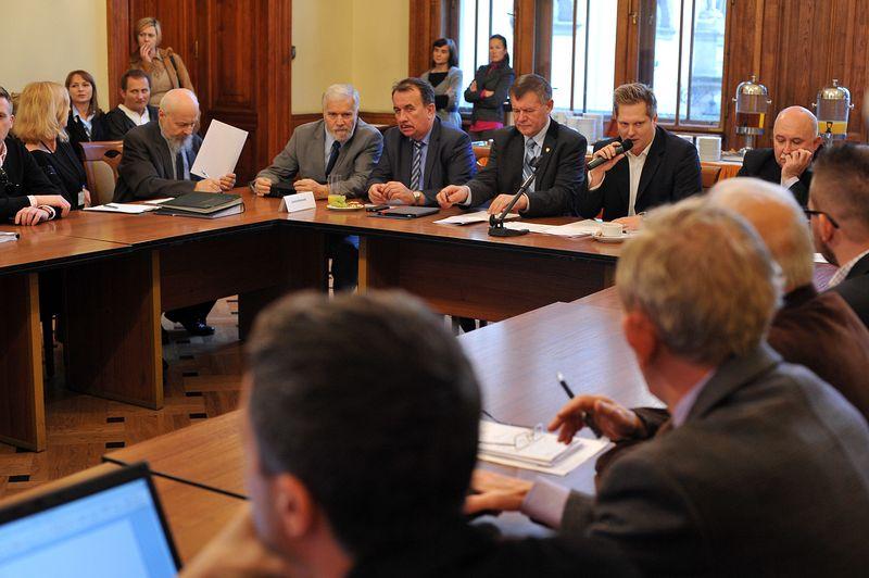 Posiedzenie komisji wspólnej. Fot. Grzegorz Łyko / INFO Kraków24