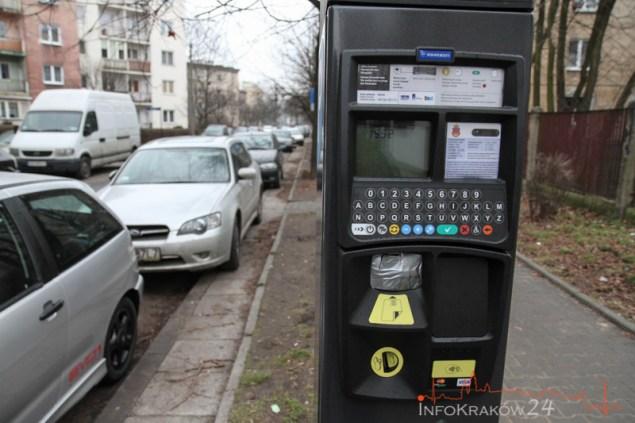 Strefa Płatnego Parkowania. Fot. Jan Graczyński / INFO Kraków24