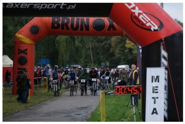 V Nowohucki Biathlon Rowerowy. Fot. Organizator
