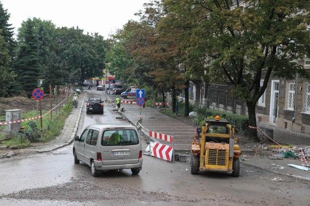 Rynek Podgórski_remont. Fot. Jan Graczyński