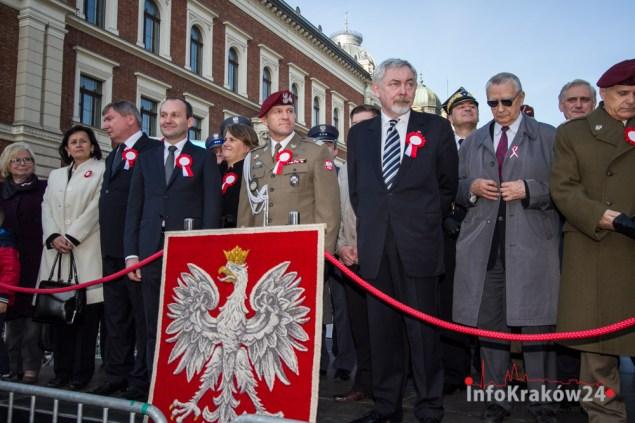 Święto Niepodległości w Krakowie. Fot. Jan Graczyński / INFO Kraków24