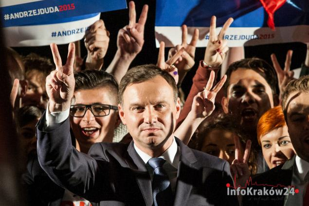 Andrzej Duda nowym Prezydentem RP. Fot. Jan Graczyński / INFO Kraków24