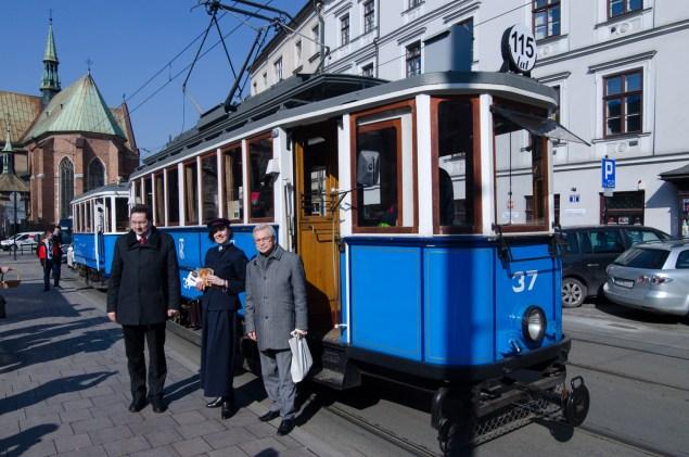 Od 115 lat elektryczne tramwaje kursują w Krakowie. Fot. Bogusław Świerzowski / INFO Kraków24