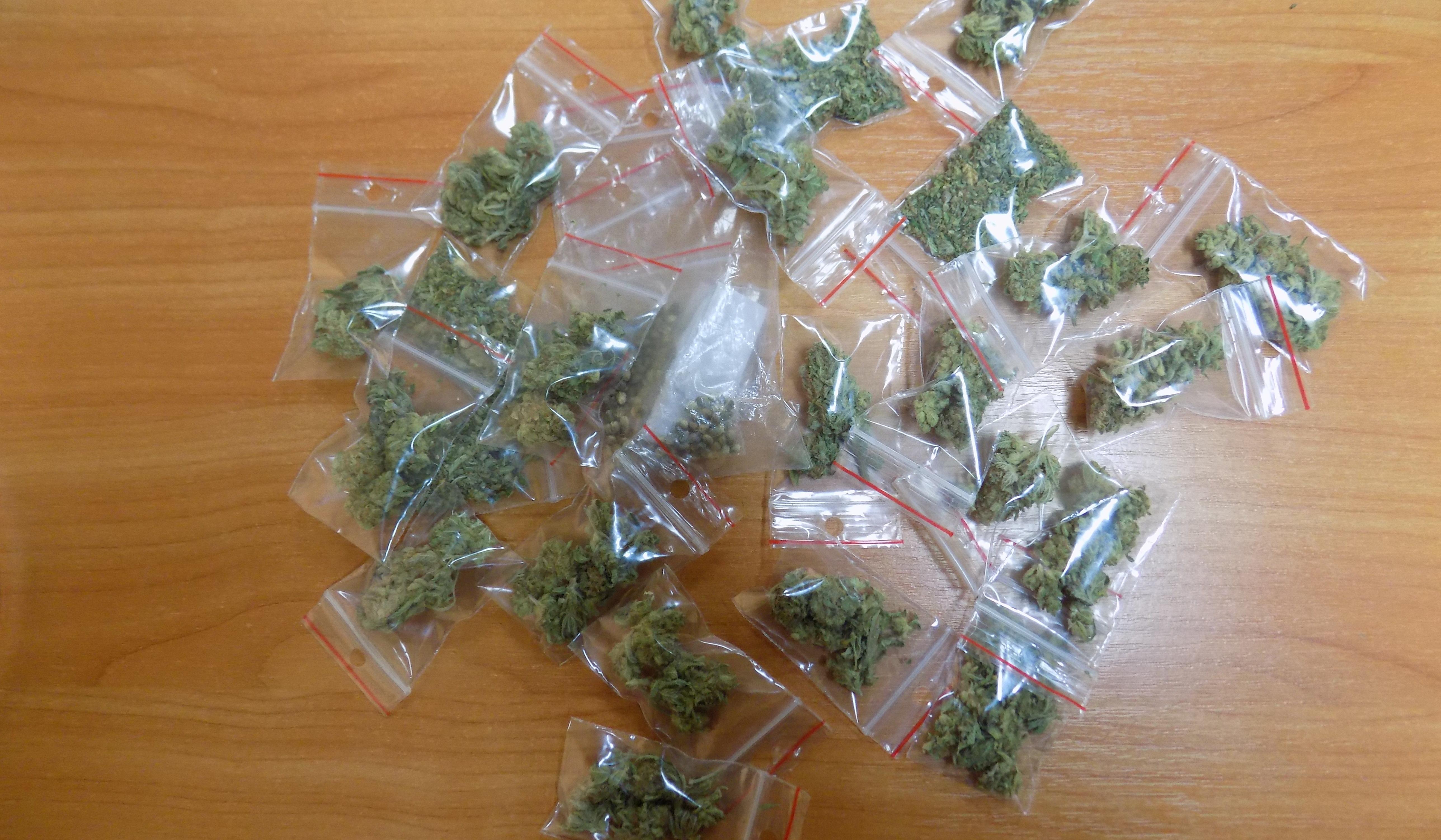KPP Oświecim Narkotyki zabezpieczone u dealerów  (1)