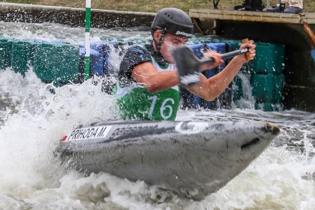 Mistrzostwa Świata juniorów i U23 w Kajakarstwie Slalomowym. Fot. Bogusław Świerzowski