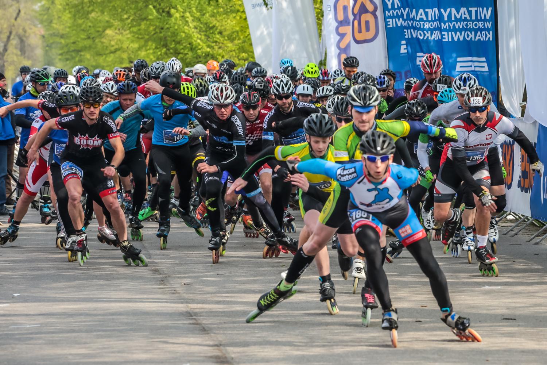 Cracovia Maraton na Rolkach [zdjęcia]